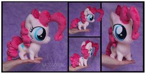 Chibi Pinkie Pie Custom Plush by Nazegoreng