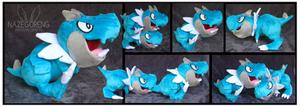 Shiny Tyrunt Custom Plushes
