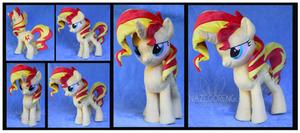 Sunset Shimmer Custom Pony Plush