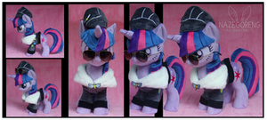 Commander Easyglider Twilight Custom Plush