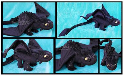 Toothless Custom Plush