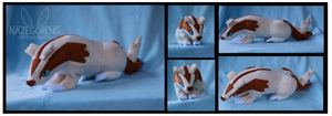 Linoone Custom Plush by Nazegoreng