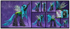 Queen Chrysalis Custom Plush by Nazegoreng