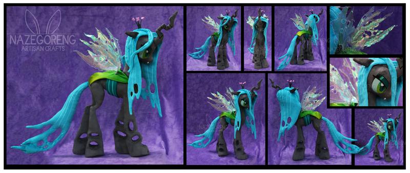 Queen Chrysalis Custom Plush