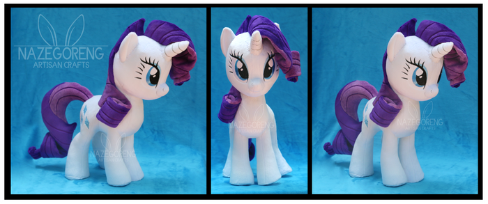 SOLD: Rarity Custom Plush