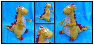 Cartoon Dragon Custom Plush