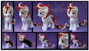 Firecracker OC Custom Plush by Nazegoreng