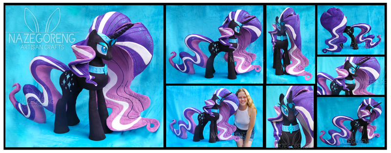 Nightmare Rarity Custom Plush