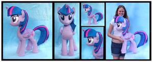 Cuddle Size Twilight Sparkle Custom Plush