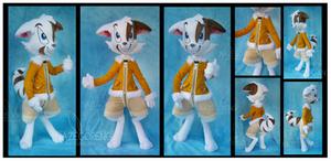 Mace from Dreamkeepers Custom Plush