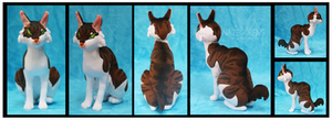 Jasper the Egyptian Mau Custom Plush