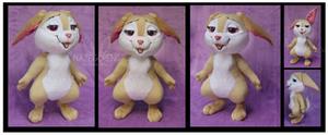 Carrot Bunny Custom Plush