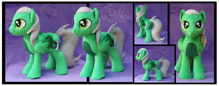 Emerald Strike Custom Plush