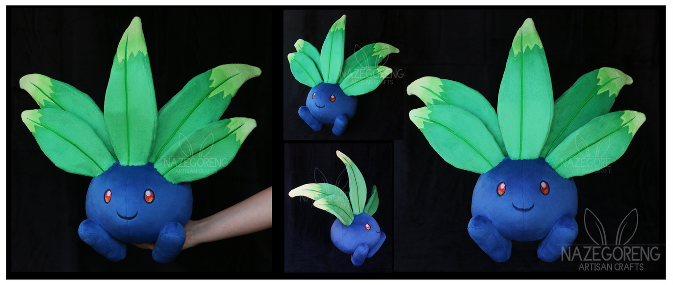 Lifesize Oddish Custom Plush by Nazegoreng