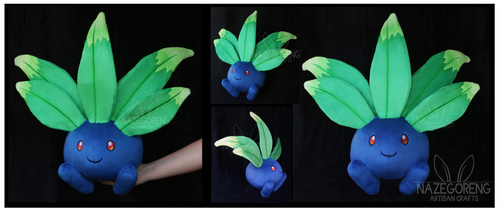 Lifesize Oddish Custom Plush by Nazegoreng