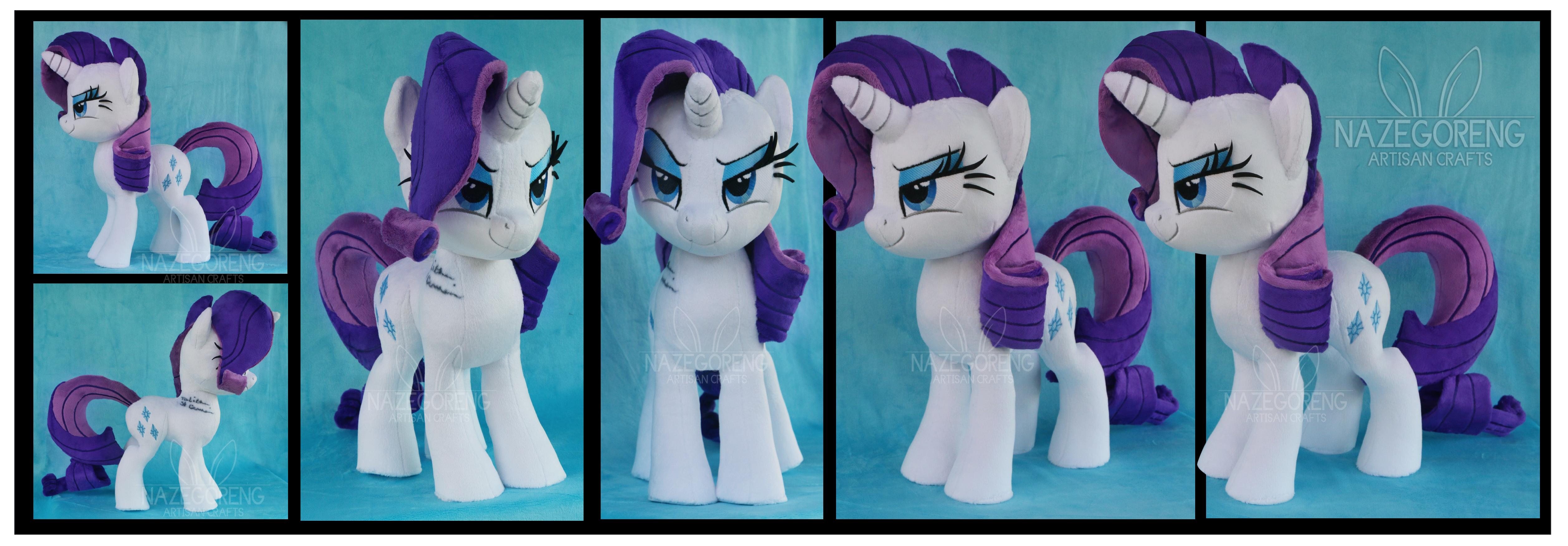 Gift: Rarity Custom Plush