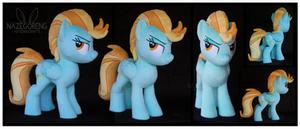 Lightning Dust Custom Plush by Nazegoreng