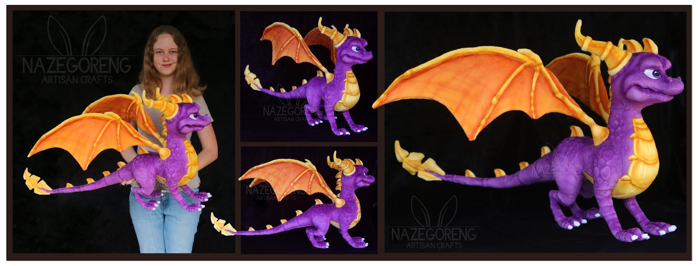 Spyro Custom Plush by Nazegoreng