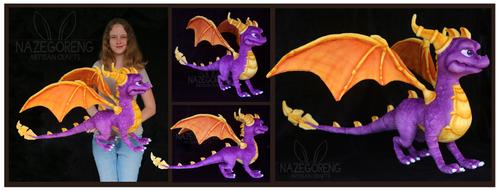 Spyro Custom Plush