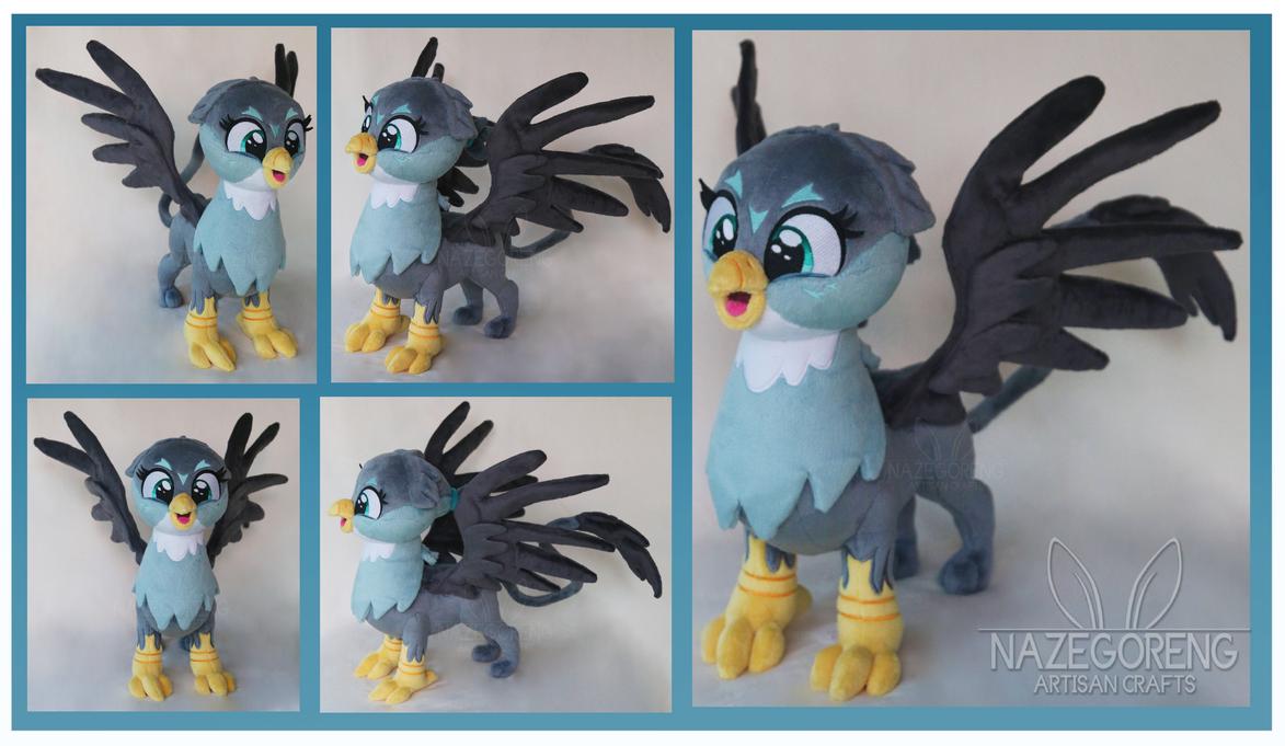 Gabby Griffon Custom Plush by Nazegoreng