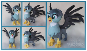 Gabby Griffon Custom Plush