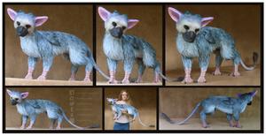 Trico: The Last Guardian -Custom Art Doll