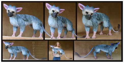 Trico: The Last Guardian -Custom Art Doll