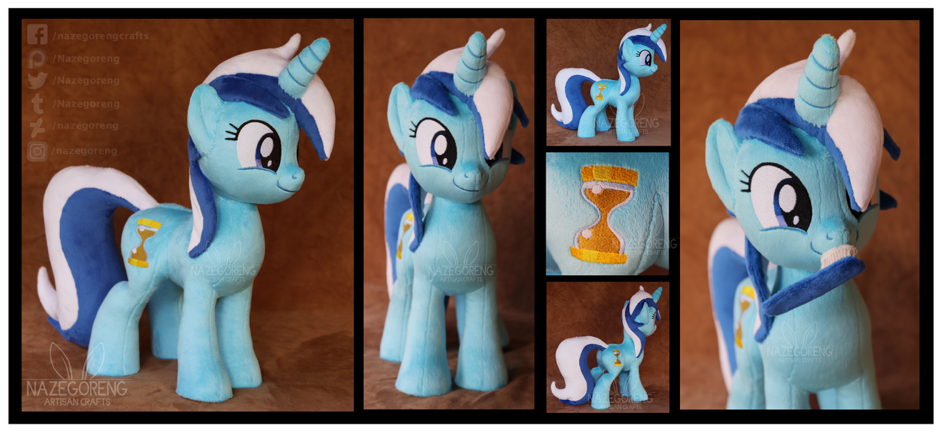 Colgate/Minuette Custom Plush by Nazegoreng