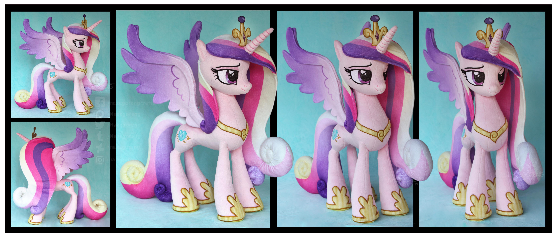 Princess Cadance Custom Plush by Nazegoreng