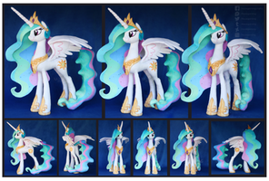 Princess Celestia custom Plush by Nazegoreng