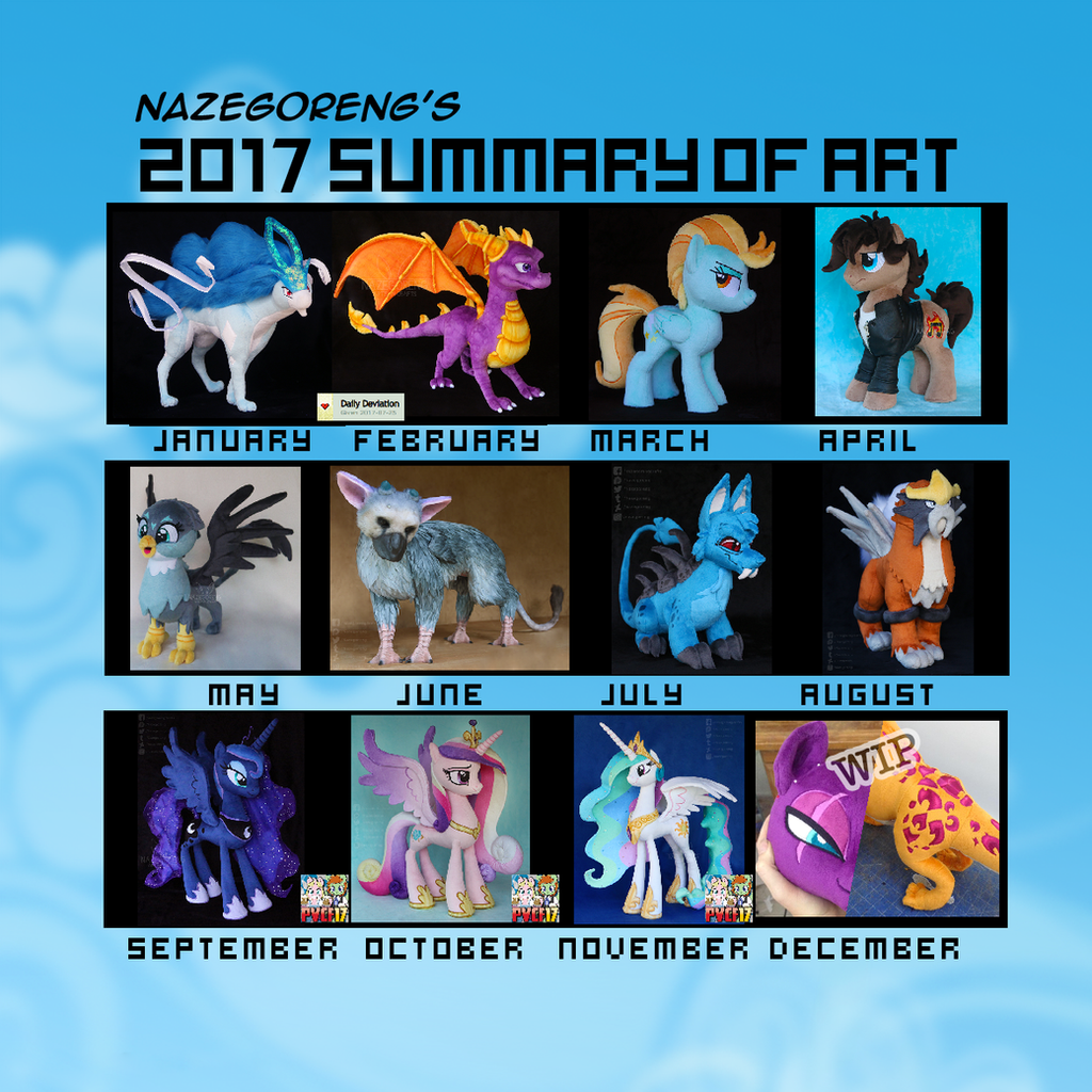 2017 Summary Of Art by Nazegoreng