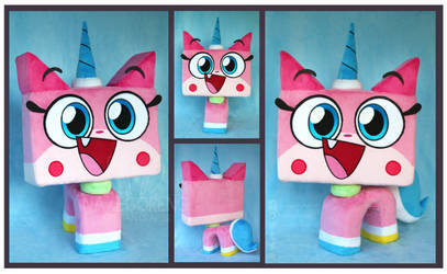 Princess Unikitty Custom Plush