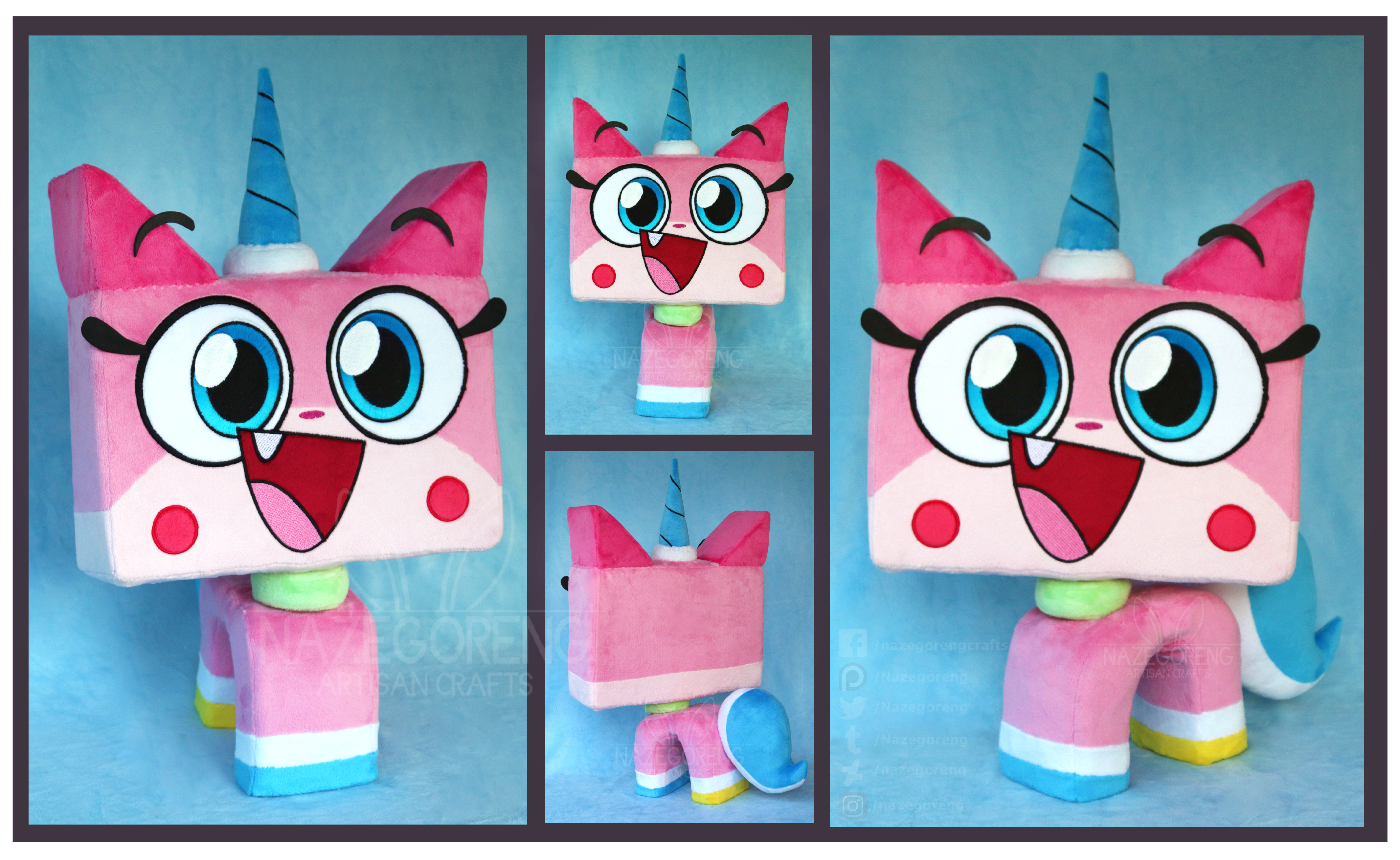 Princess Unikitty Custom Plush