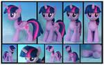 Twilight Sparkle Custom Plush by Nazegoreng
