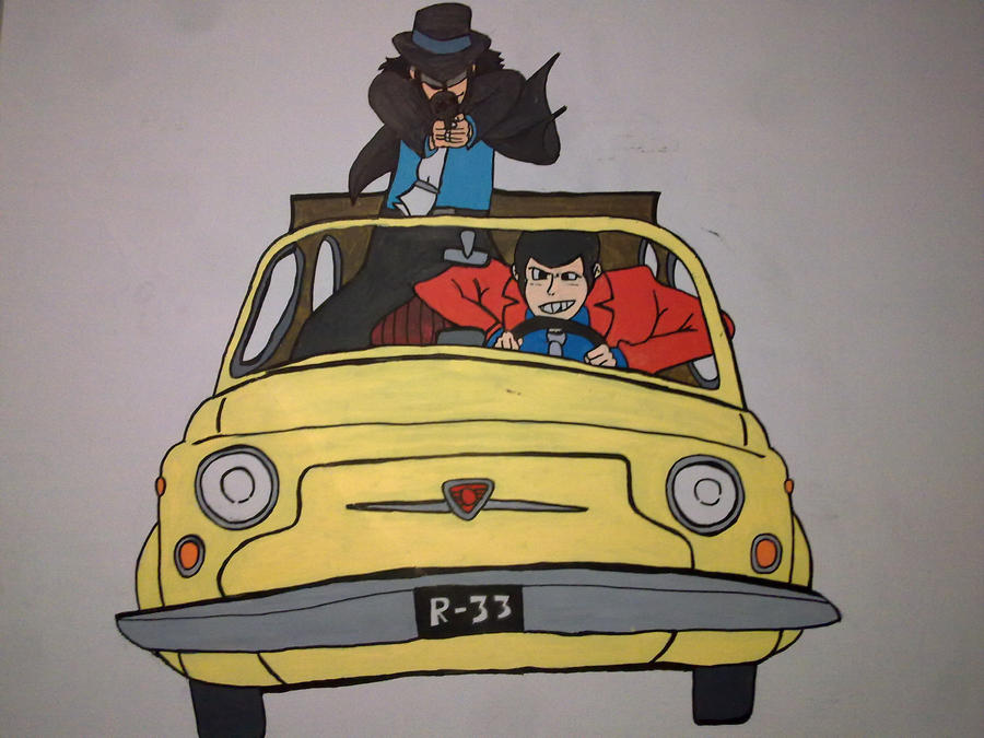 coloured lupin and jigen on 500 by diegosora281092 on ...