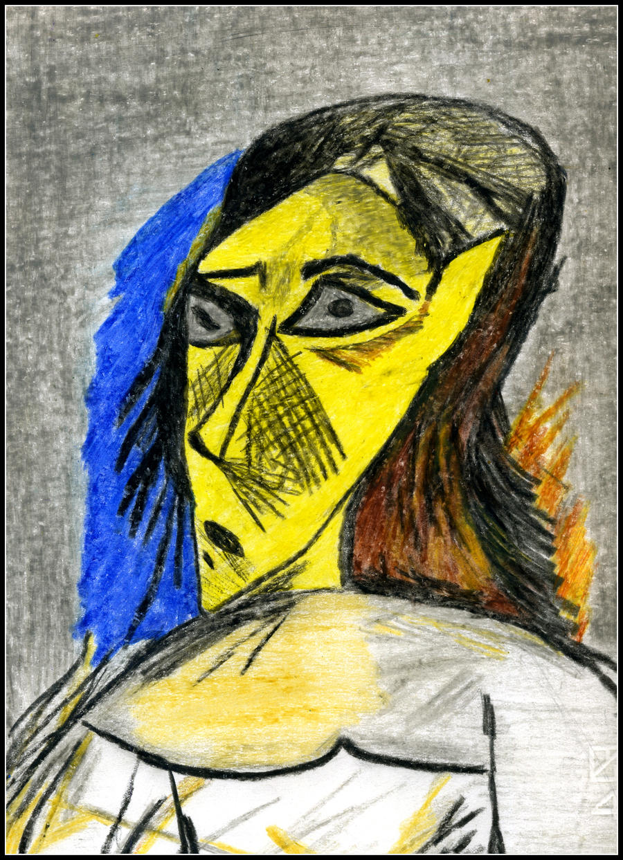 distinguishing the art of pablo picasso from the others in les demoiselles Les demoiselles davignon by pablo picasso and its influence on other artists this episode focuses on pablo les demoiselles d'avignon was picasso's.