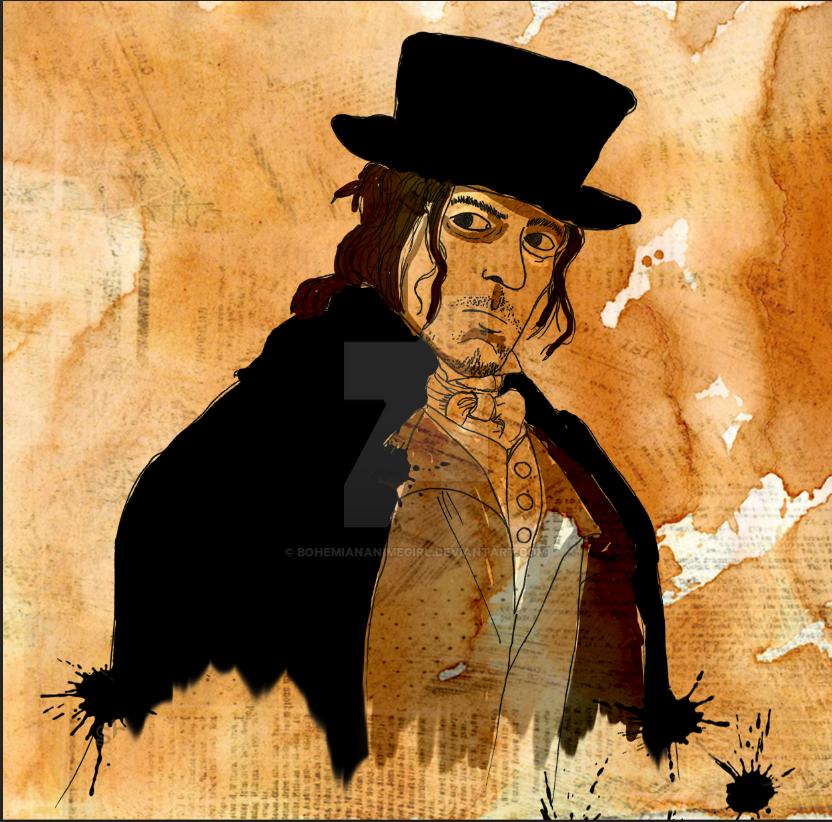 Jonathan Strange and Mr Norrell Childermass by bohemiananimegirl
