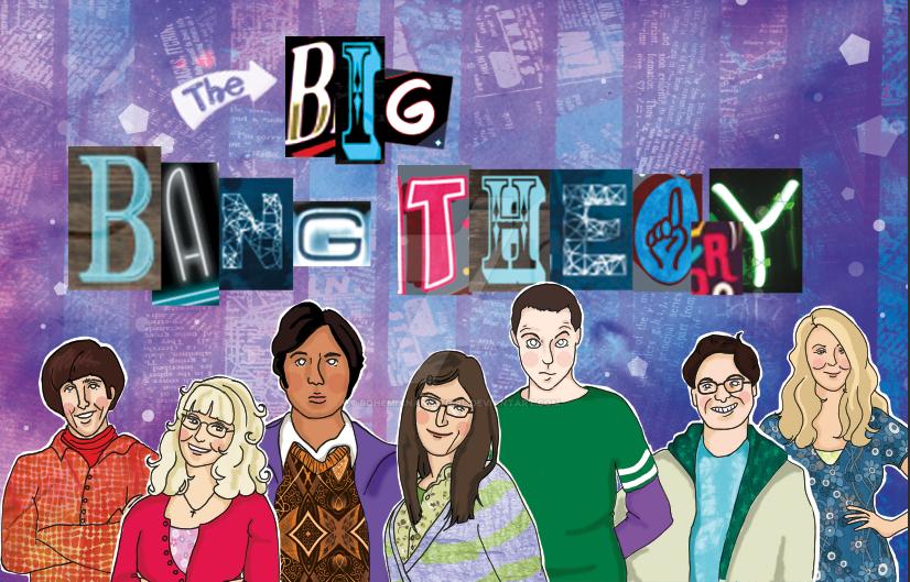 Big Bang Theory Fan art by bohemiananimegirl