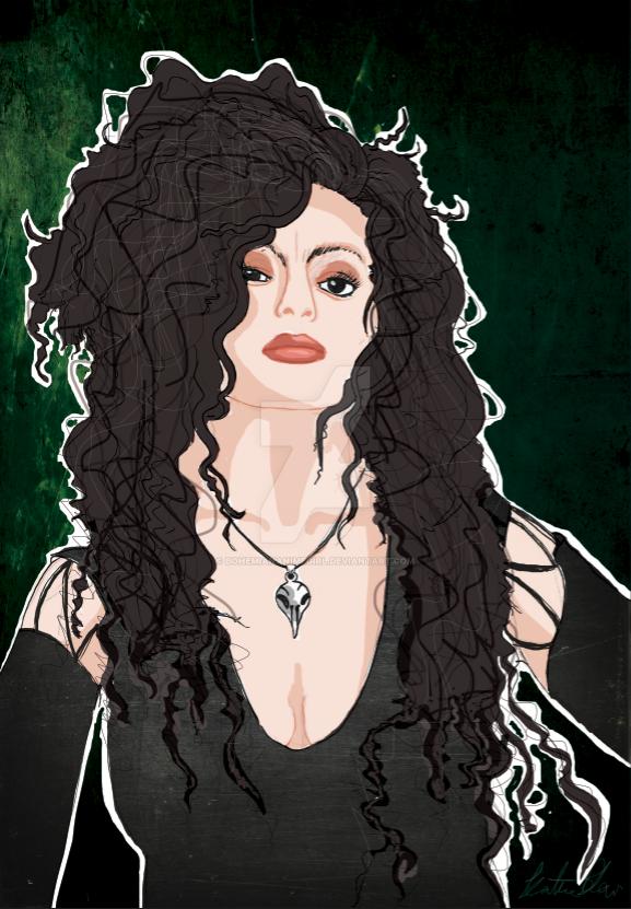 Bellatrix Lestrange by bohemiananimegirl