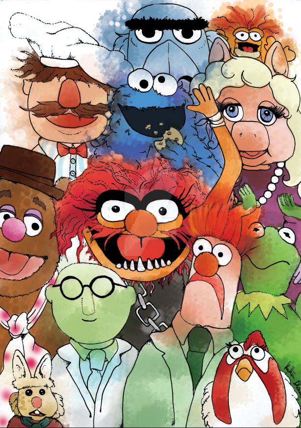 Muppet Madness by bohemiananimegirl