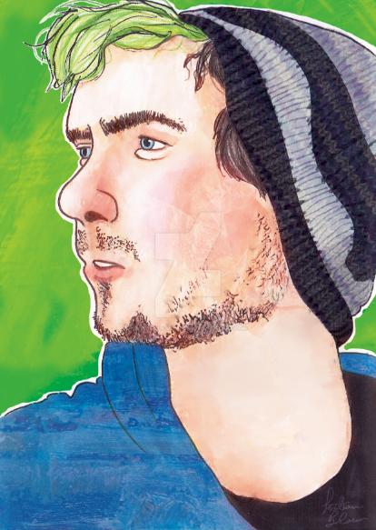 Youtuber Jack Septic eye fan art by bohemiananimegirl