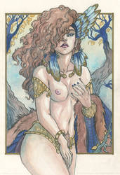 Freya valkyrie by zibidulle