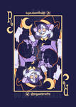 Rue Playing Card Badge