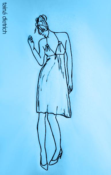 Modelehti Blue I by dieetriich