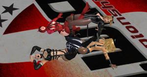 Rumble Rose vs Dead Or Alive.c