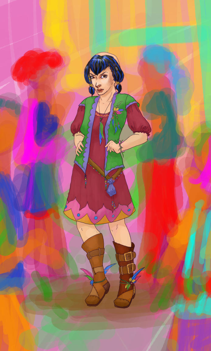 Gift Art- Wendy by JTPepper09
