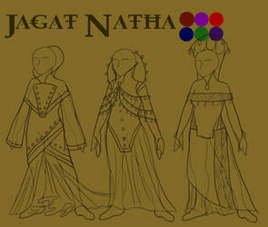 Shuri Pura,Jagat Natha Fashion by JTPepper09