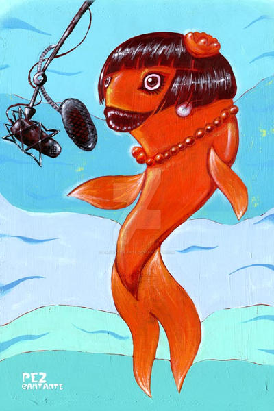 Singing Fish - Pez Cantante by empastillarte
