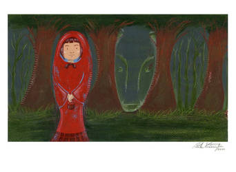 Little Red Riding Hood and a mystery... by empastillarte
