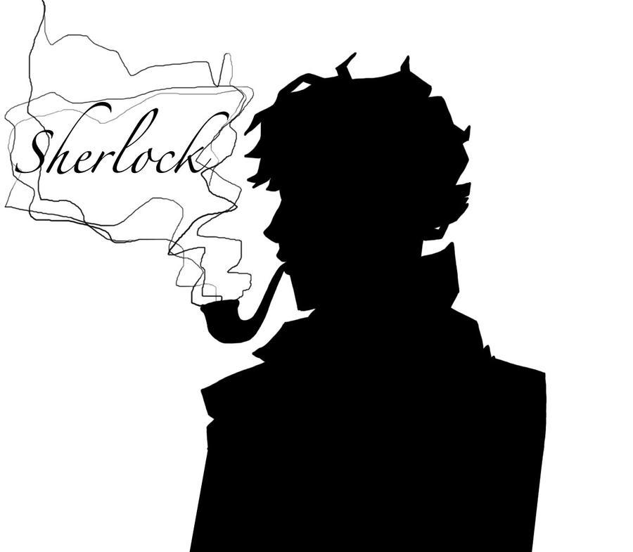 Sherlock Silhouette by kiku-chan13